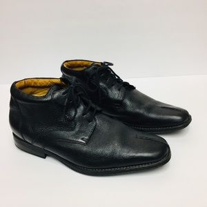 Sandro Moscoloni Black Ankle Boots. Size 12